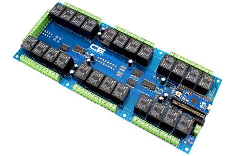 24-Channel Relay Controller for Arduino Micro