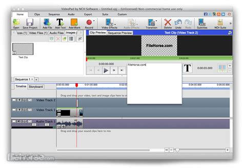 VideoPad Video Editor for Mac - Download Free (2019 Latest