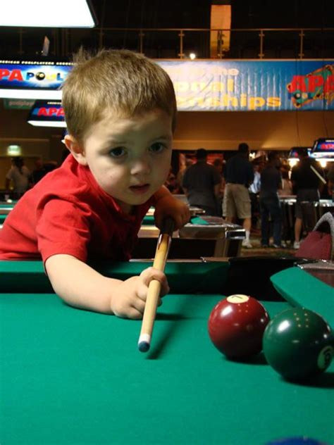 """""""9-Ball"""" Movie to Feature 2-Year-Old Pool Prodigy"""