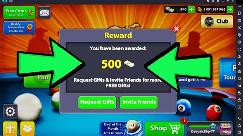 8 Ball Pool HOW TO GET FREE 500 POOL CASH WITH SINGLE