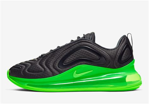 The Nike Air Max 720 Appears With Black Jersey Mesh And