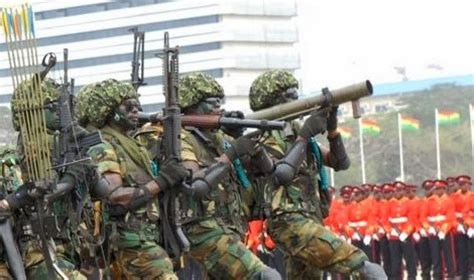 World Military and Police Forces: Ghana