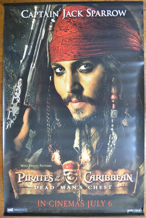 Pirates Of The Caribbean - Dead Man's Chest (Set of FOUR
