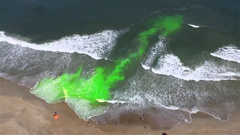 Rip Current Dye Tracking - YouTube