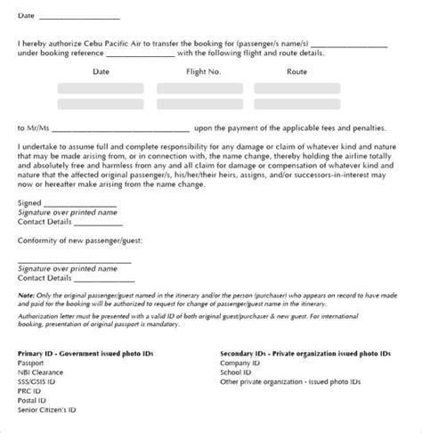 FREE 19+ Letter of Authorization Forms in PDF   Word