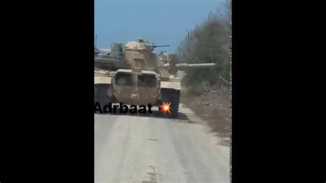 M-60 tank survive direct RPG-7 hit from ISIS during